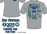 Carmel Fun Run 2015 Shirt